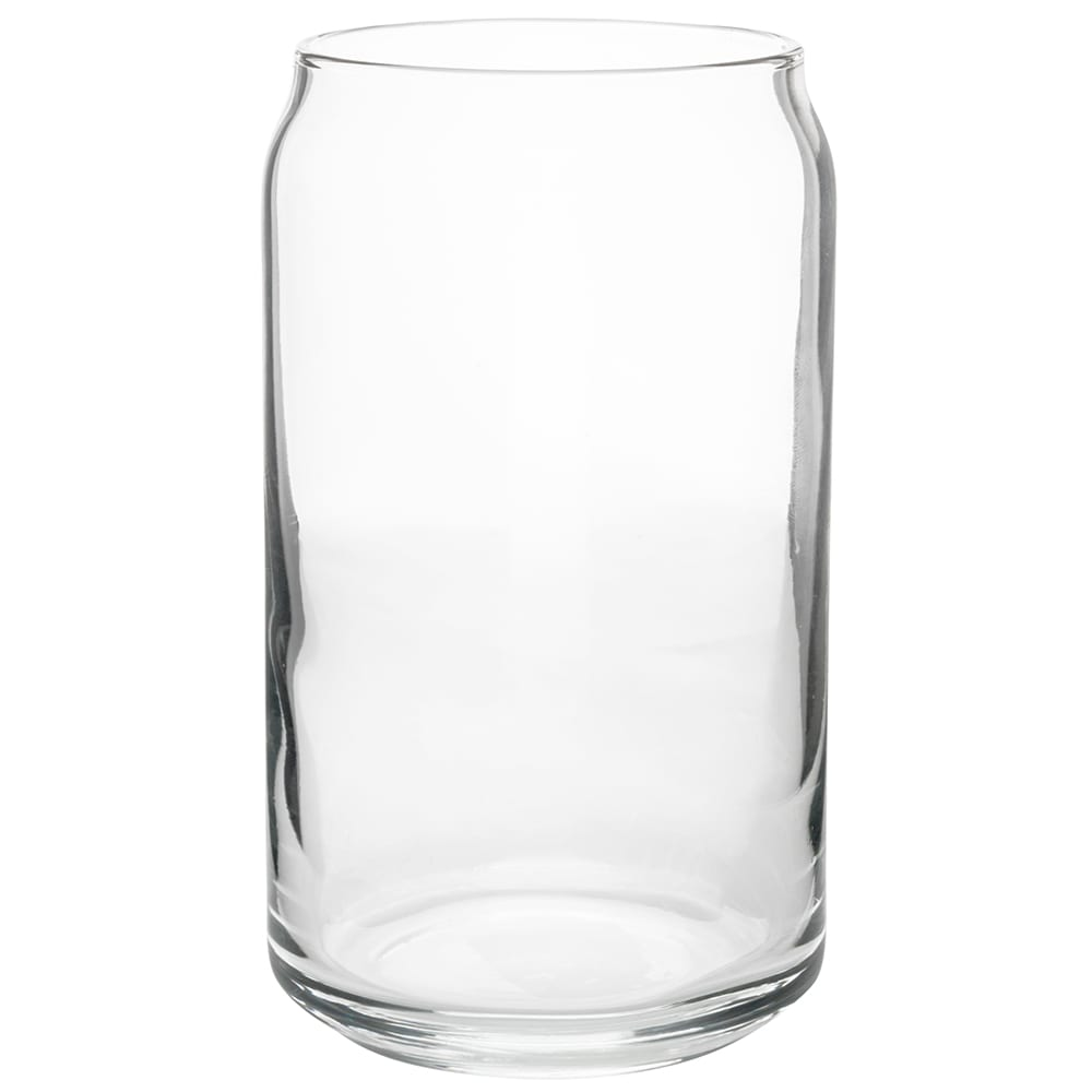 libbey 209 16 oz beer can glass safedge rim - 16 Oz Glass