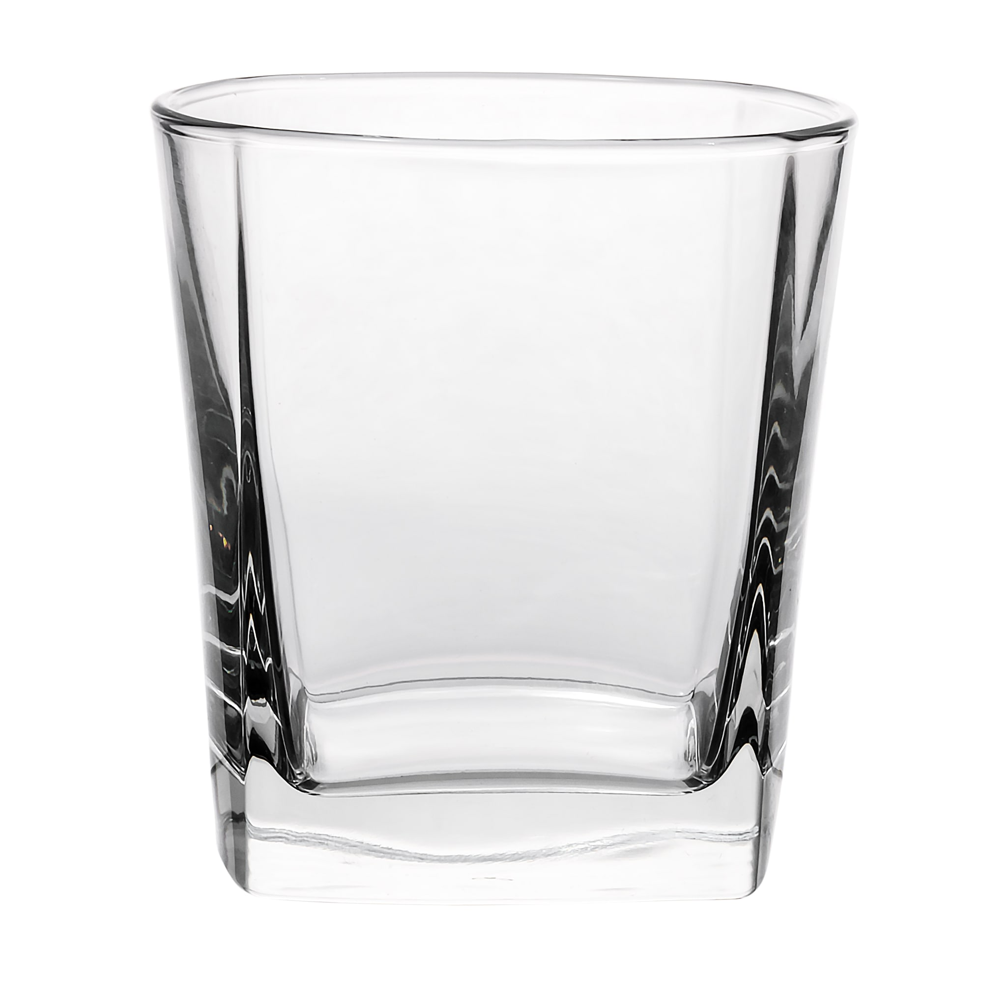 Libbey 2205 12 oz Double Old Fashioned Glass - Quartet, Square Base