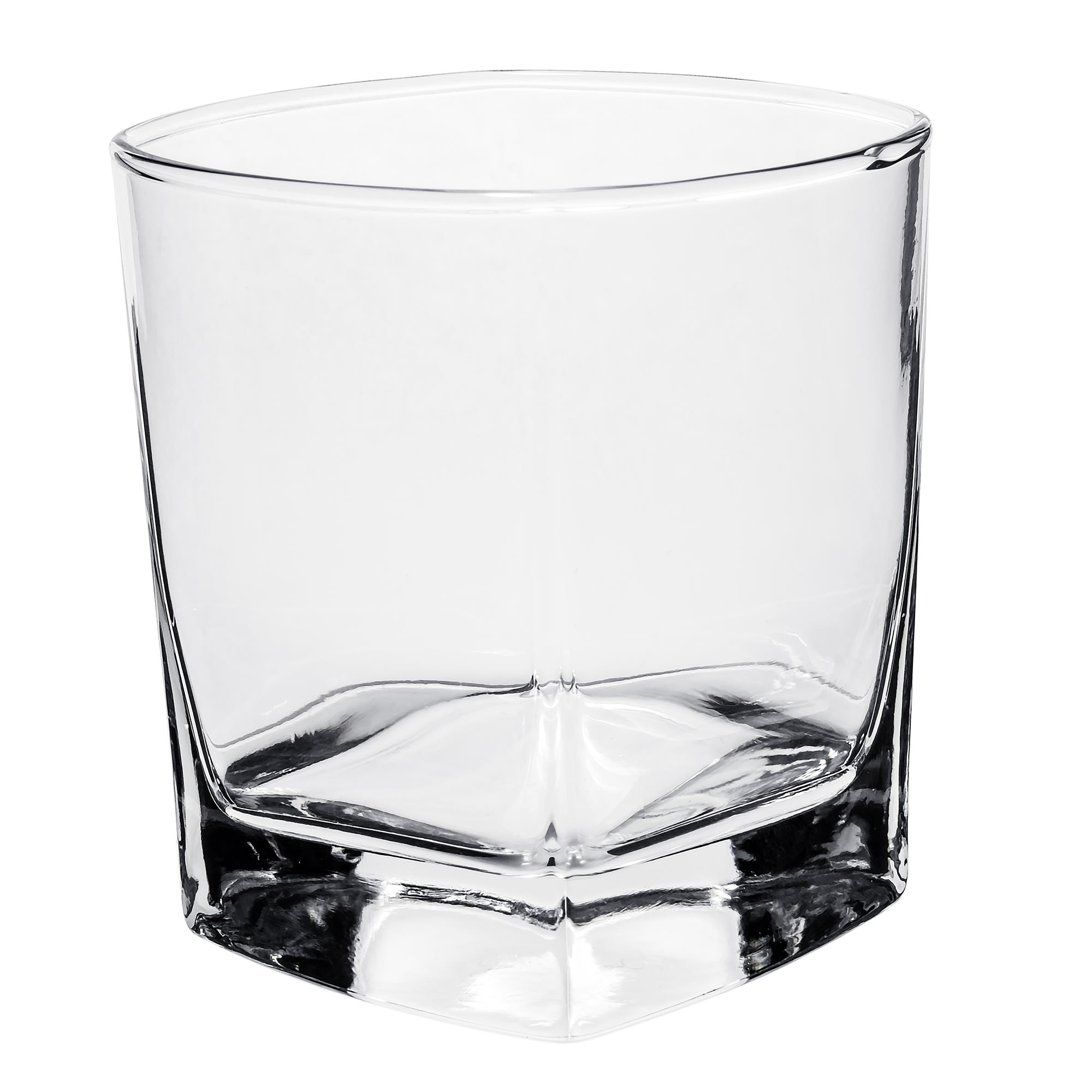 Libbey 2207 9.25 oz Double Old Fashioned Glass - Quartet, Square Base