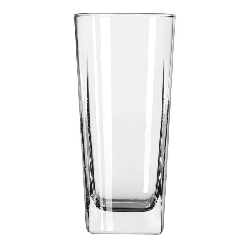 Libbey 2208 10.5-oz Quartet Square Base Cooler Glass