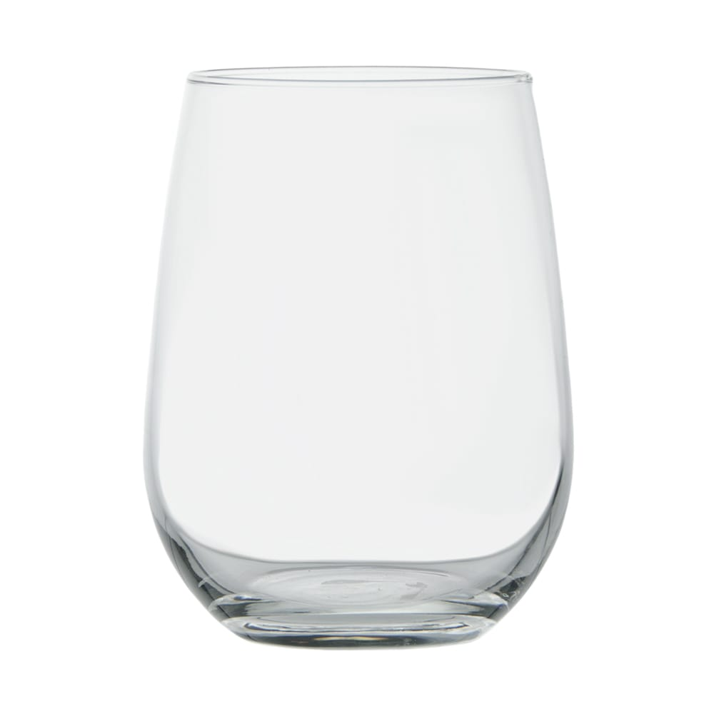Libbey 221 17-oz Stemless White Wine Glass