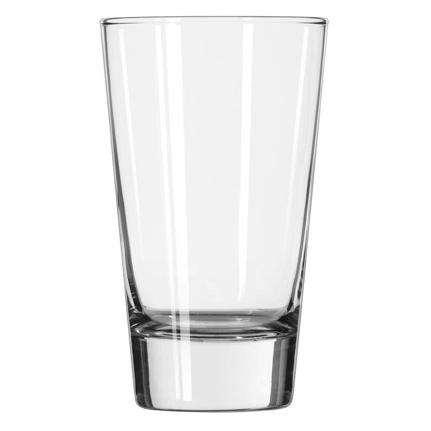 Libbey 2308 15.25 oz Geo Cooler Glass - Safedge Rim Guarantee