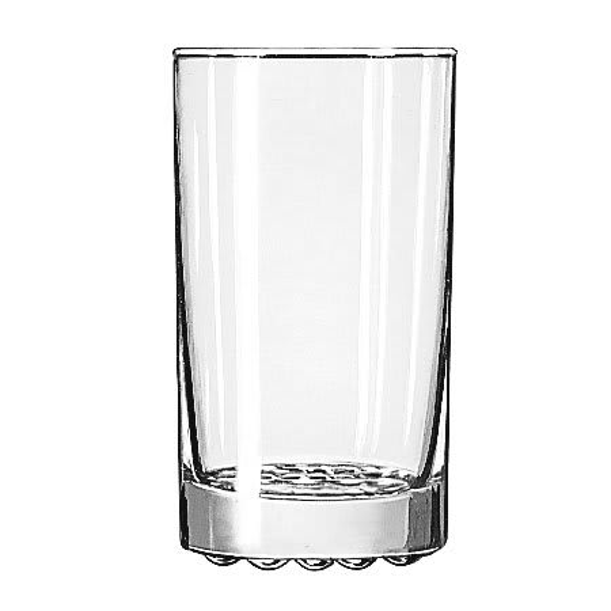 Libbey 23596 11.25 oz Nob Hill Beverage Glass - Safedge Rim Guarantee