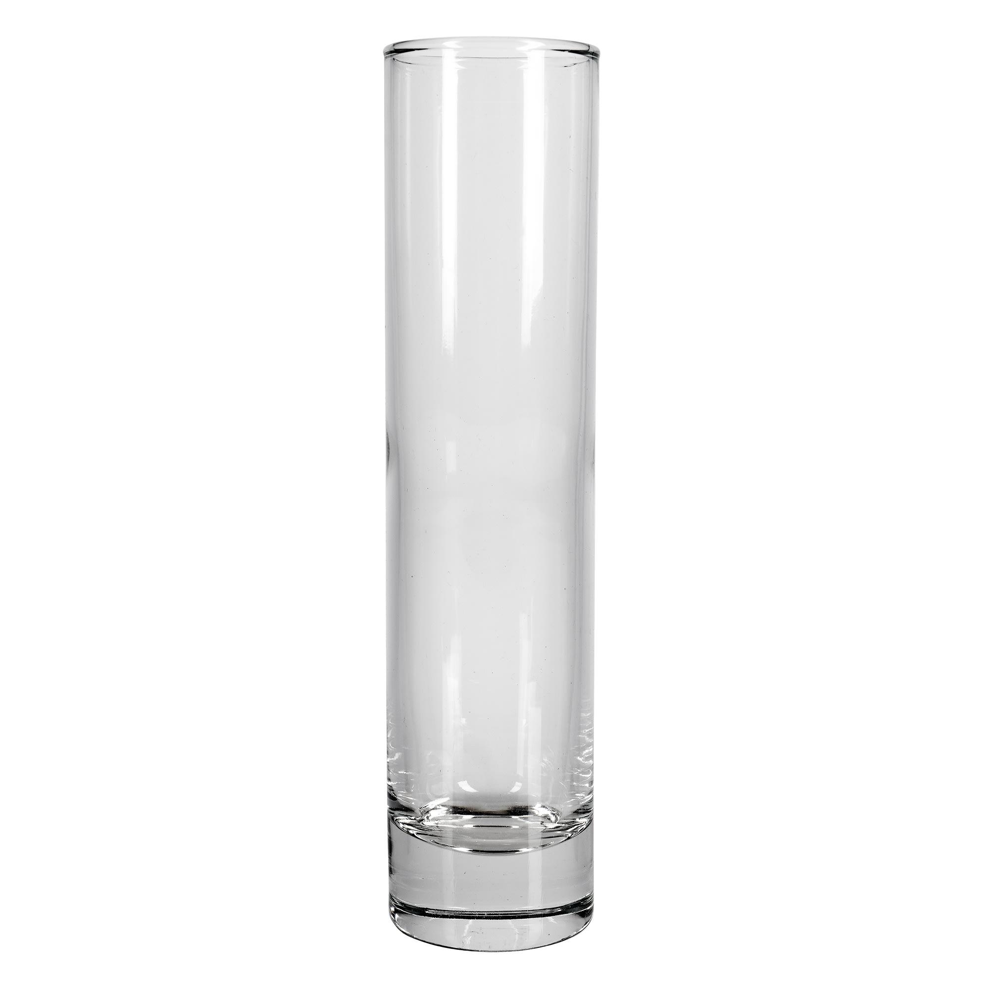 Libbey 2824 6.75 oz Glass Cylinder Bud Vase