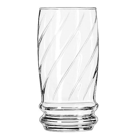 Libbey 29911HT 22 oz Cascade Iced Tea Glass - Safedge Rim