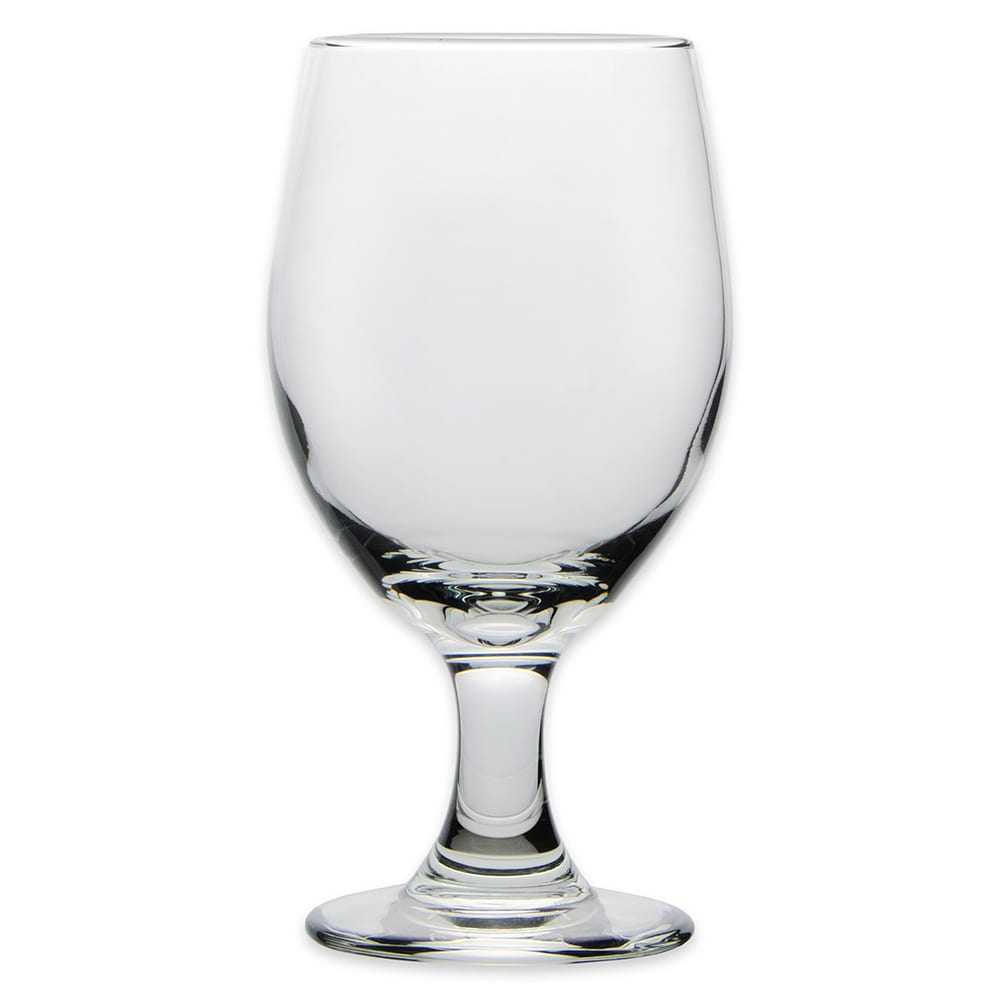 Libbey 3010 14 oz Perception One-Piece Banquet Goblet - Safedge Rim & Foot