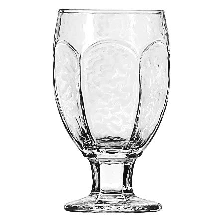 Libbey 3211 10.5 oz Chivalry Banquet Goblet - Safedge Rim & Foot Guarantee