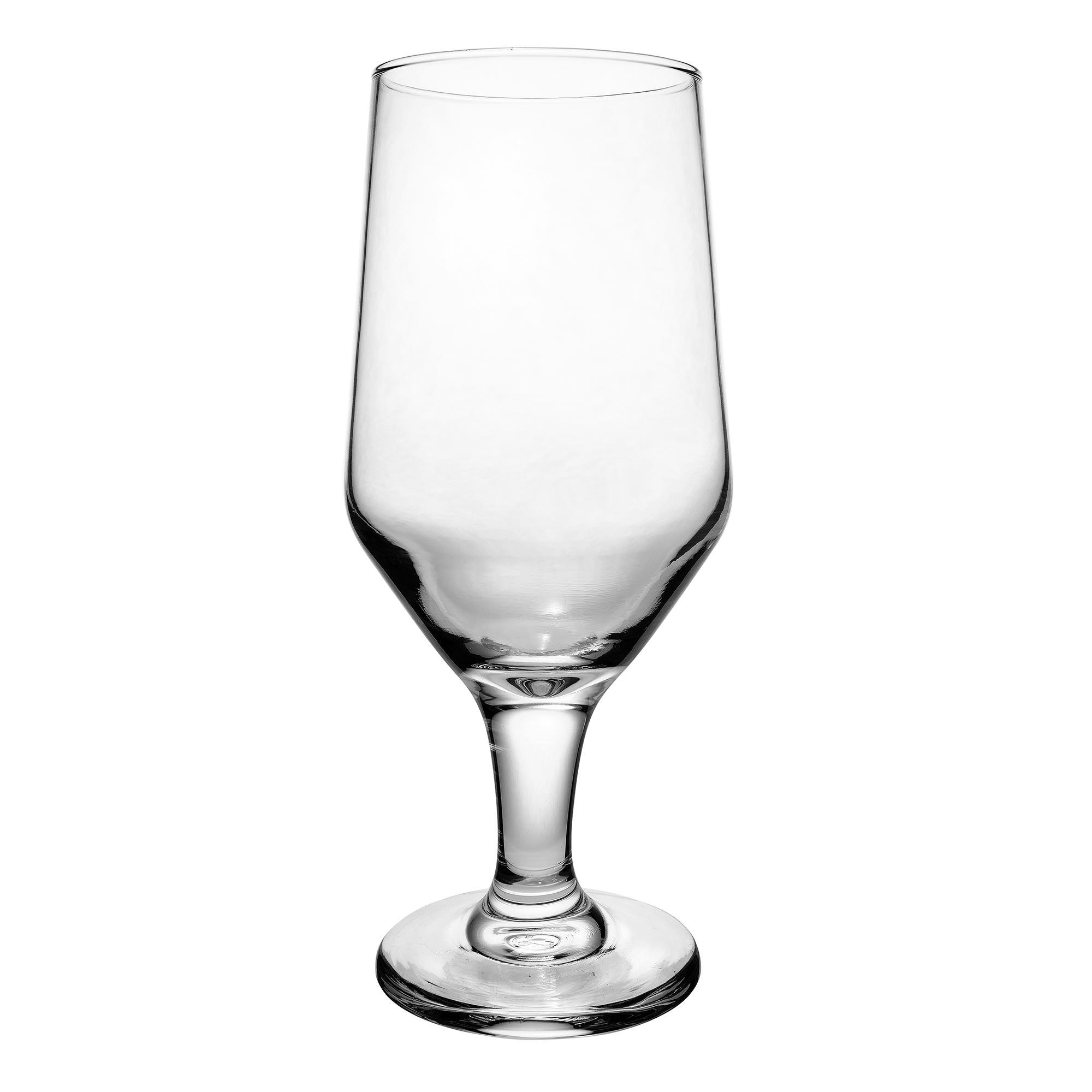 Libbey 3328 12 oz Estate Beer Glass - Safedge Rim & Foot Guarantee