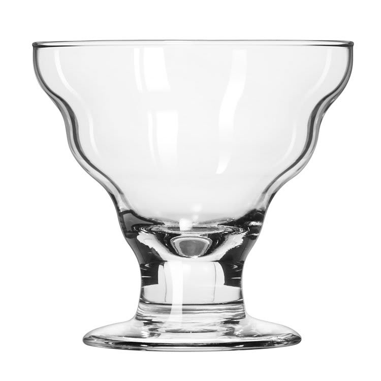 Libbey 3419 12 oz Splash Dessert Glass - Safedge Rim & Foot