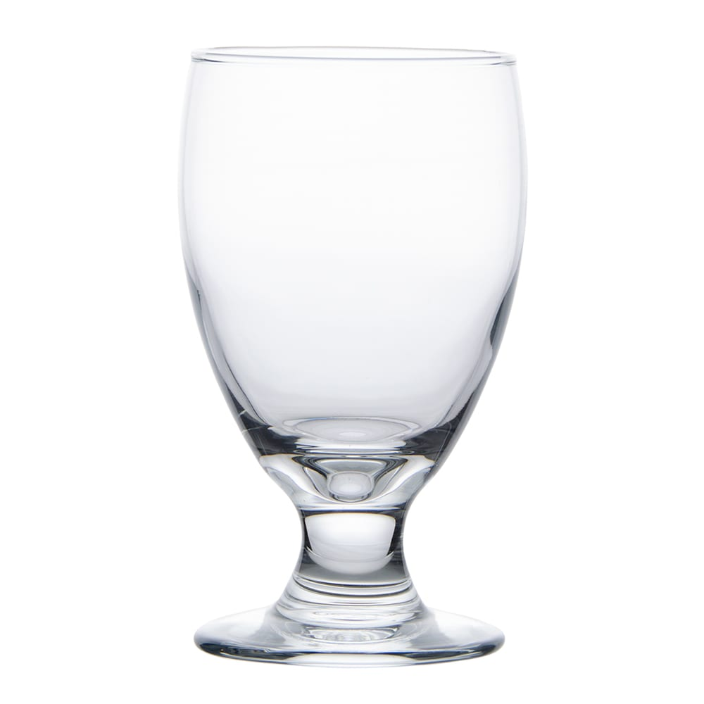 Libbey 3712 10.5-oz Embassy Banquet Goblet Glass - Safedge Rim & Foot