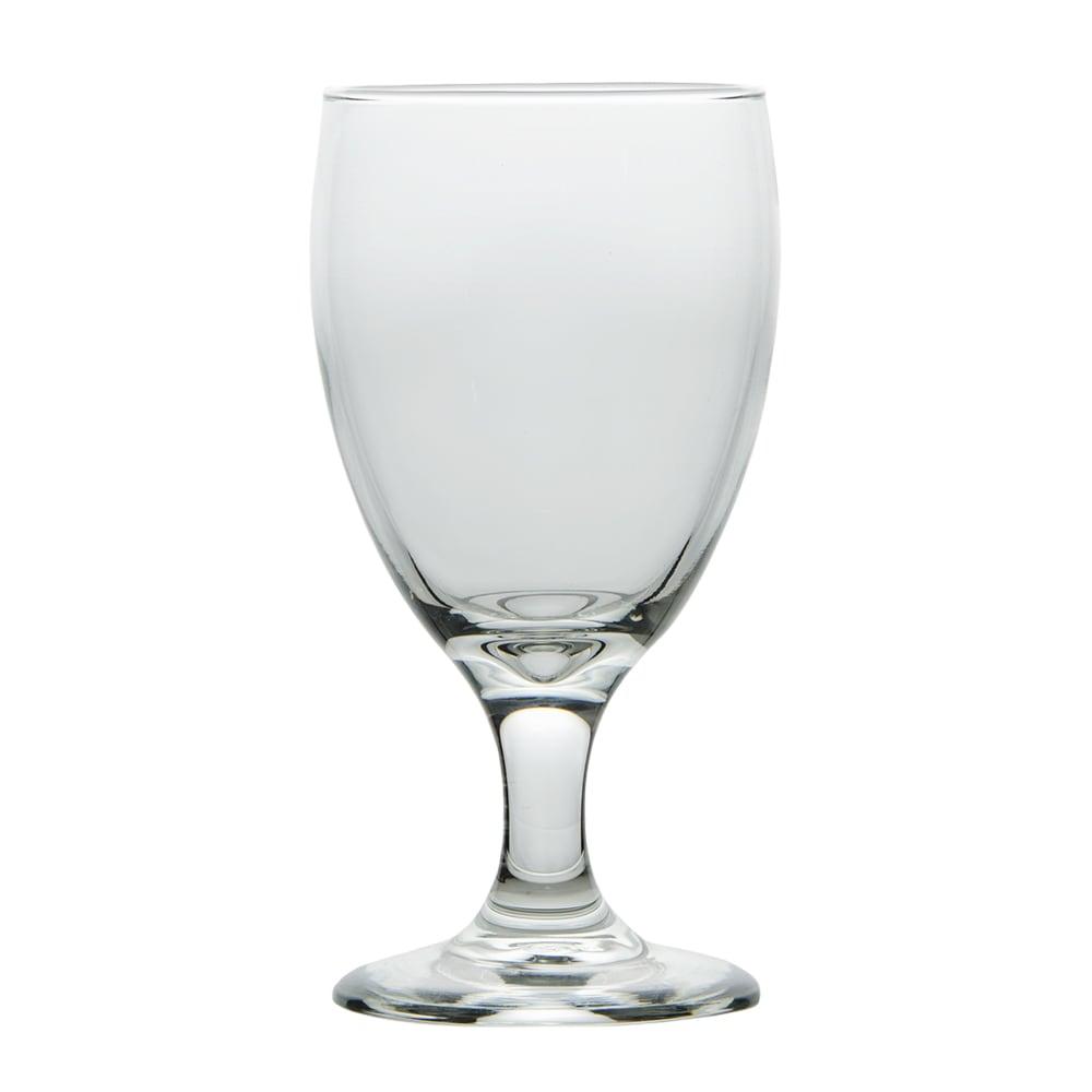 Libbey 3721 10.5 oz Embassy Royale Banquet Goblet Glass - Safedge Rim & Foot