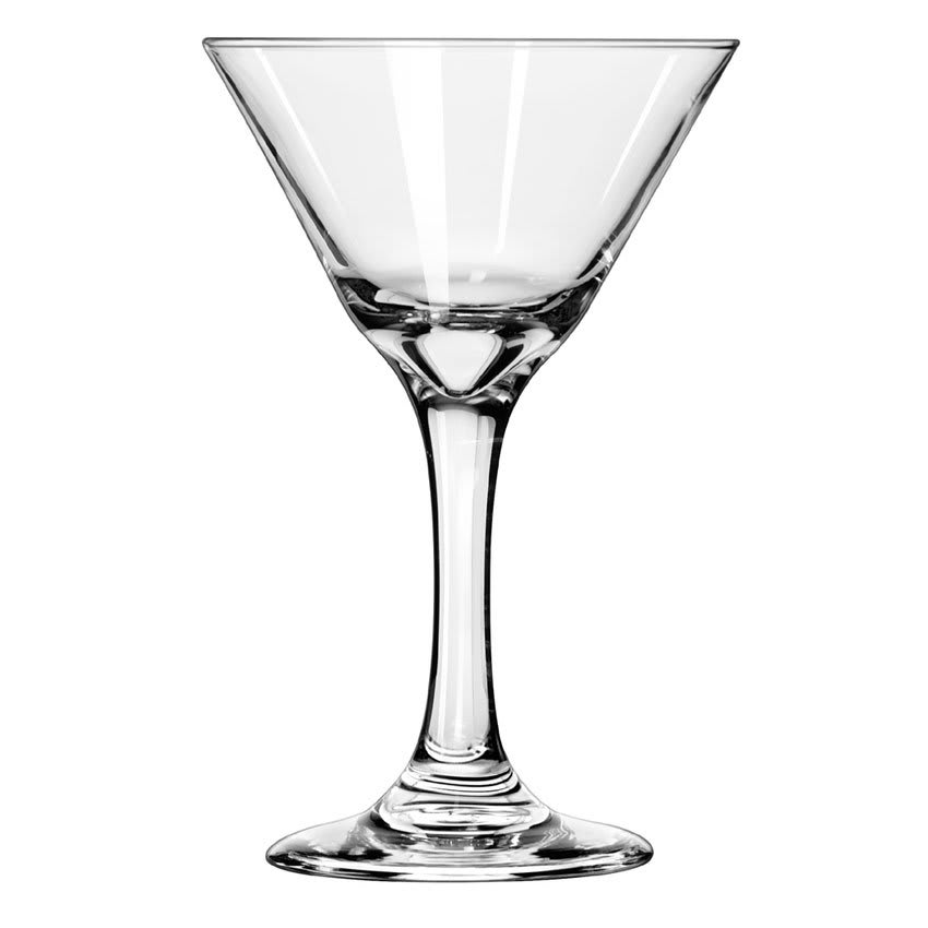 Libbey 3733 7.5-oz Embassy Martini Glass - Safedge Rim & Foot Guarantee