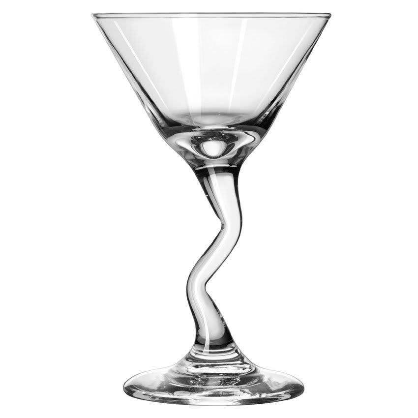Libbey 37339 7.5 oz Embassy Z-Stem Martini Glass - Safedge Rim & Foot Guarantee