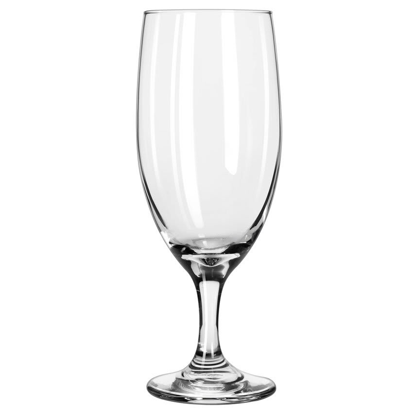 Libbey 3750 16 oz Embassy Royale Iced Tea Glass - Safedge Rim & Foot