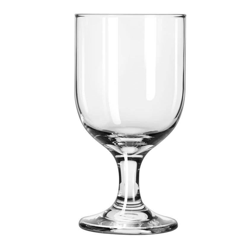 Libbey 3756 10.25-oz Embassy Goblet Glass - Safedge Rim & Foot Guarantee