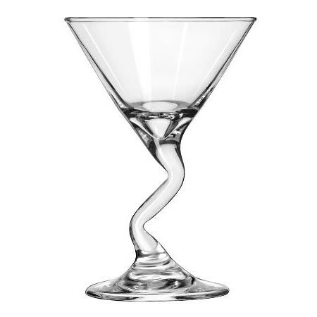 Libbey 37719 5-oz Z-Stem Martini Glass Mini-Dessert