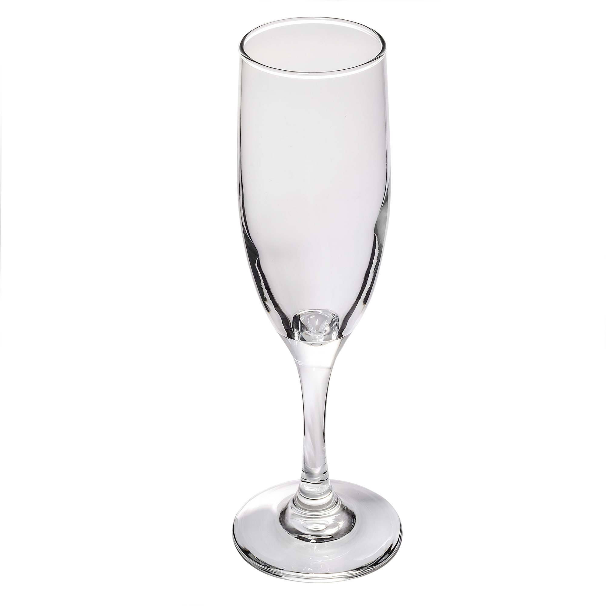 Libbey 3795 6-oz Embassy Flute Glass - Safedge Rim & Foot Guarantee