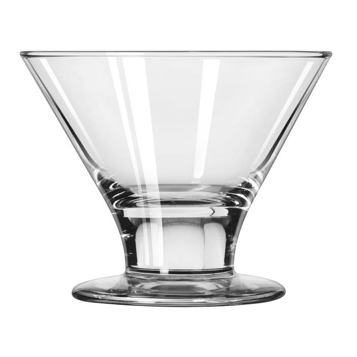Libbey 3803 8 oz Embassy Martini Glass Dessert - Safedge Rim & Foot