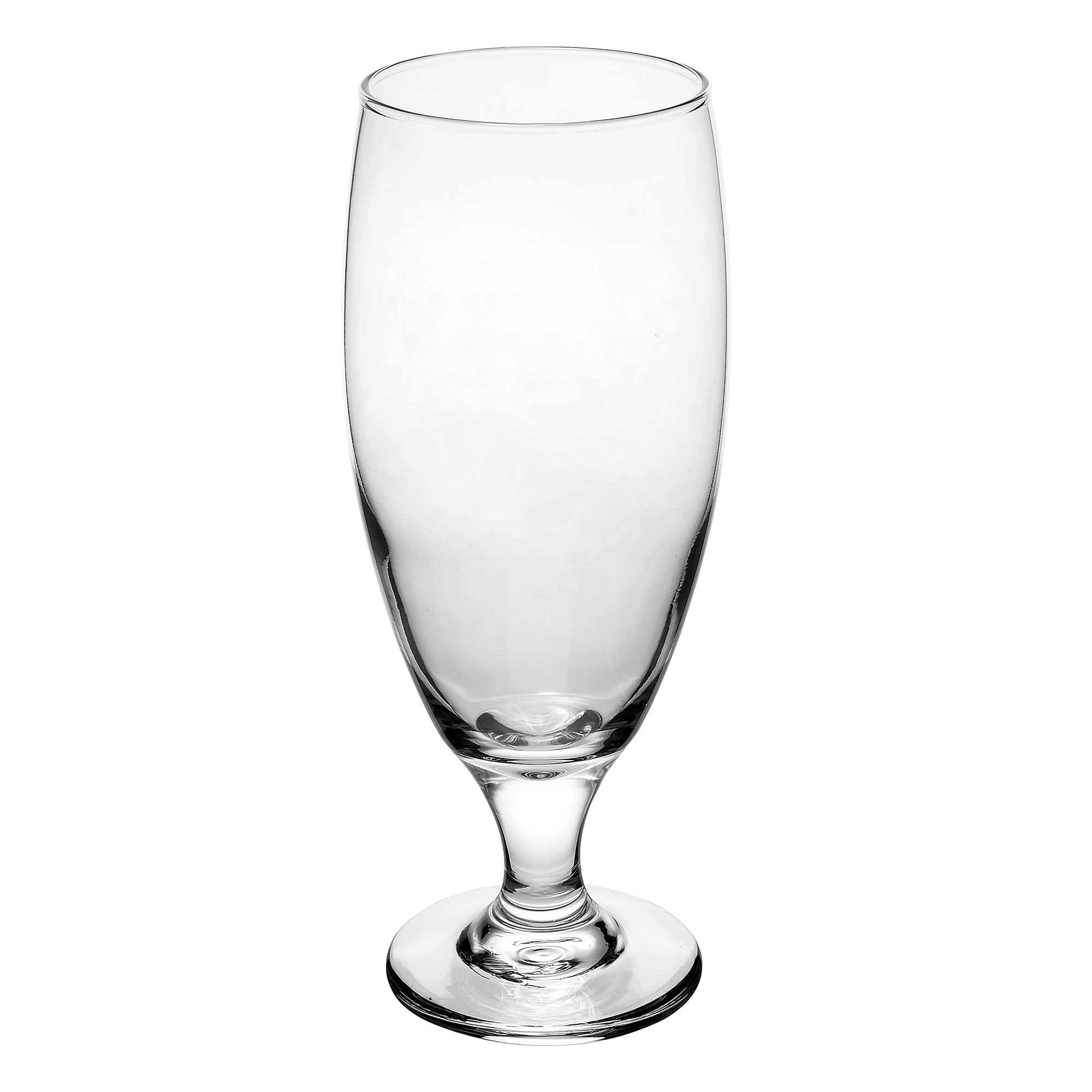 Libbey 3804 16 oz Embassy Pilsner Glass - Safedge Rim & Foot