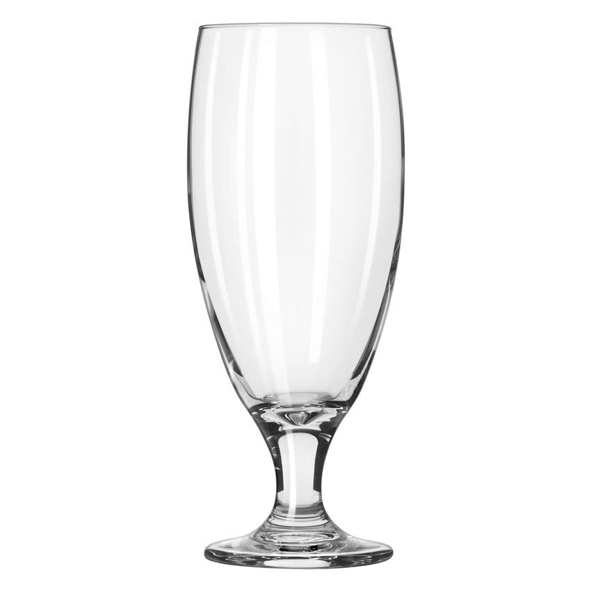 Libbey 3804/69292 17 oz Embassy Fizzazz Pilsner Glass - Nucleation Etching