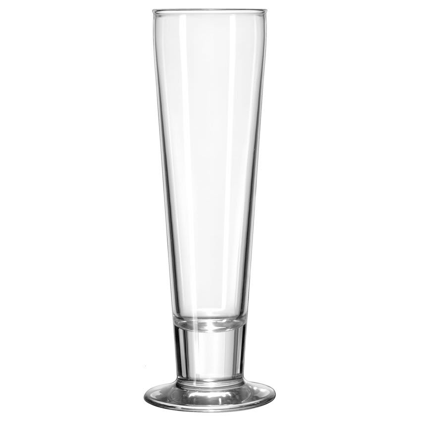 Libbey 3828 12 oz Catalina Pilsner Glass - Safedge Rim & Foot Guarantee