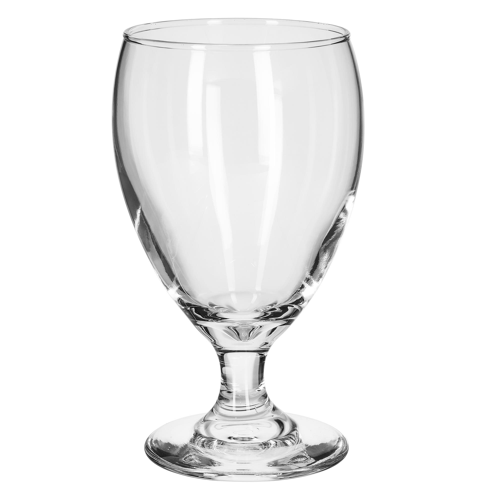 Libbey 3914 10.5 oz Teardrop Goblet Glass - Safedge Rim & Foot Guarantee