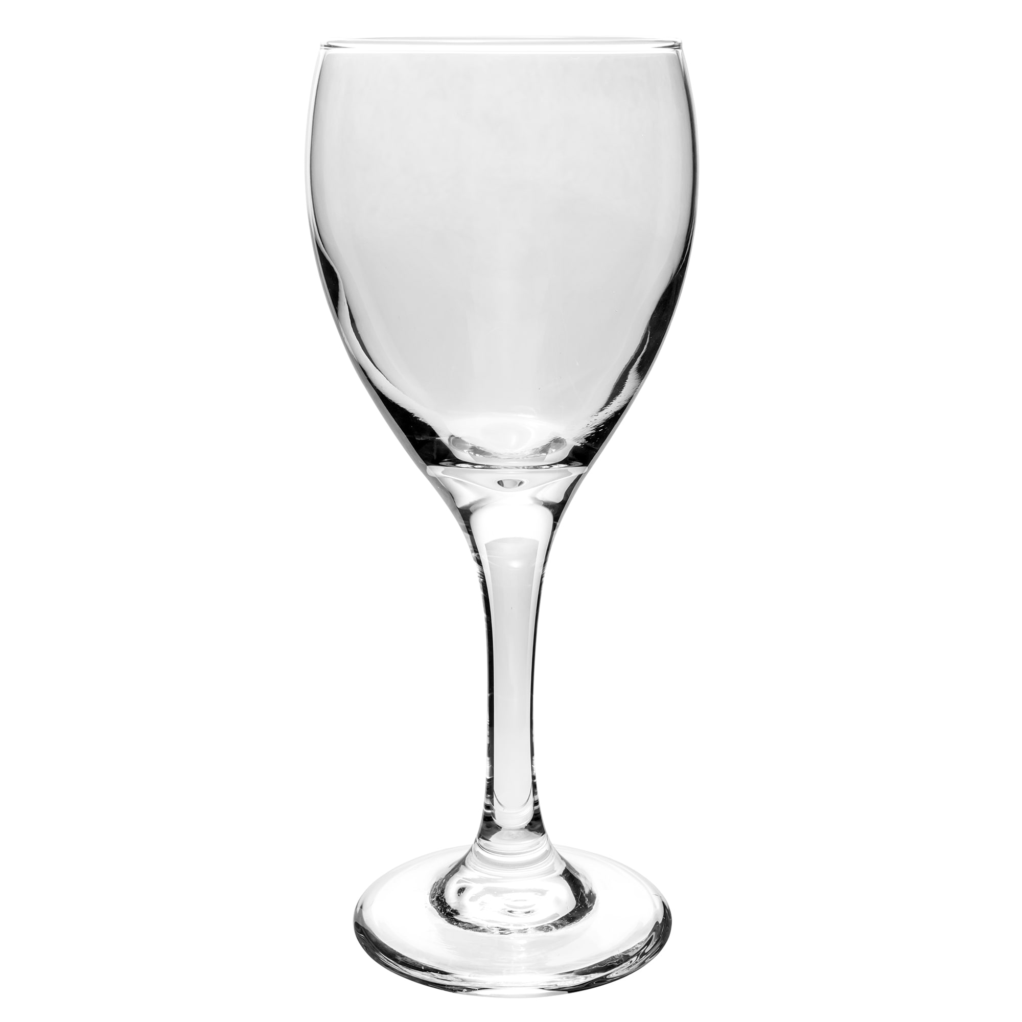 Libbey 3965 8.5 oz Teardrop White Wine Glass - Safedge Rim & Foot Guarantee
