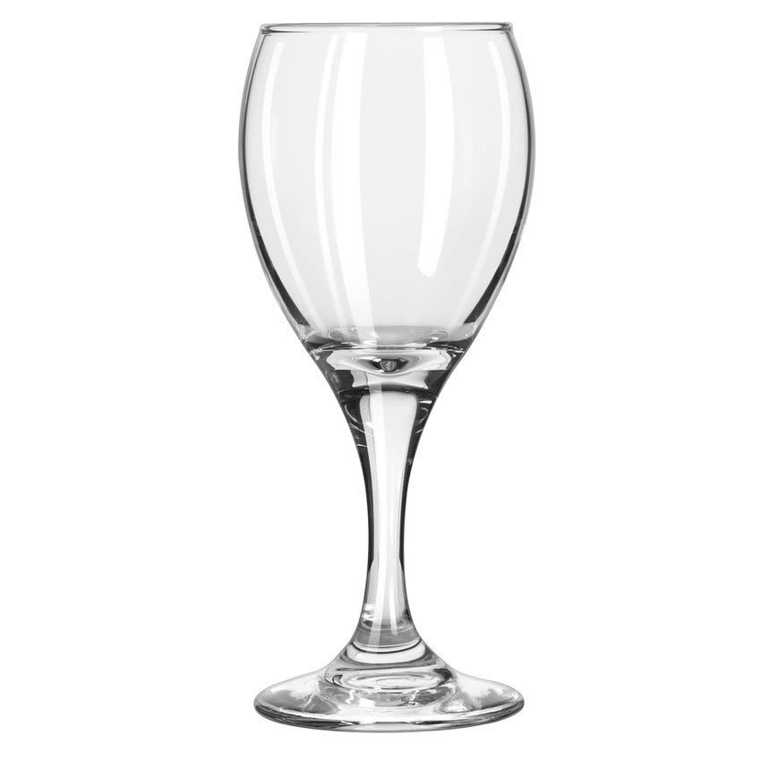 Libbey 3966 6.5-oz Teardrop White Wine Glass - Safedge Rim & Foot Guarantee