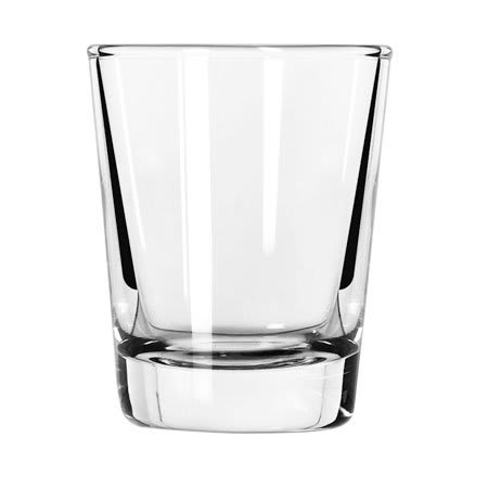 Libbey 48 2 oz Plain Whiskey Shot Glass
