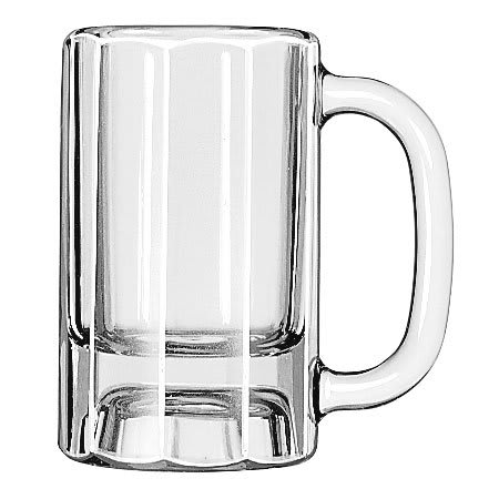 Libbey 5019 10 oz Paneled Mug