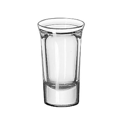 Libbey 5033 1 oz Tall Whiskey Glass