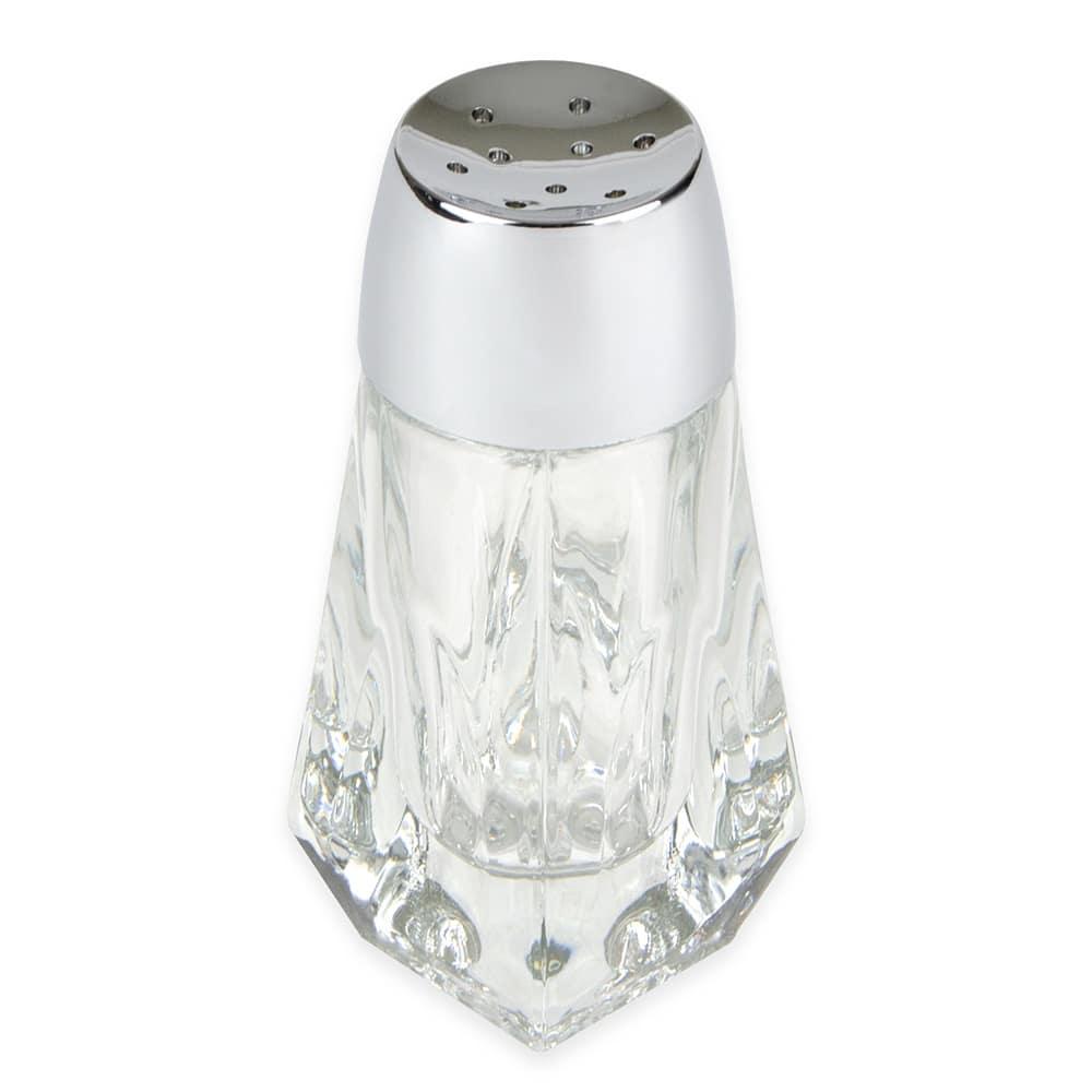 """Libbey 5037 4.125"""" Shaker for Salt/Pepper - Plastic Lid, Round"""