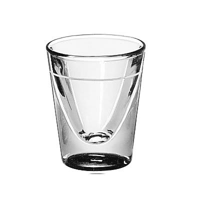 Libbey 5122/S0709 1-oz Lined Shot Glass