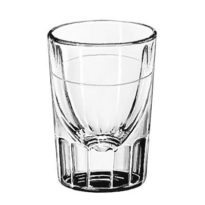 Libbey 5127/S0710 1.5 oz Lined Fluted Shot Glass
