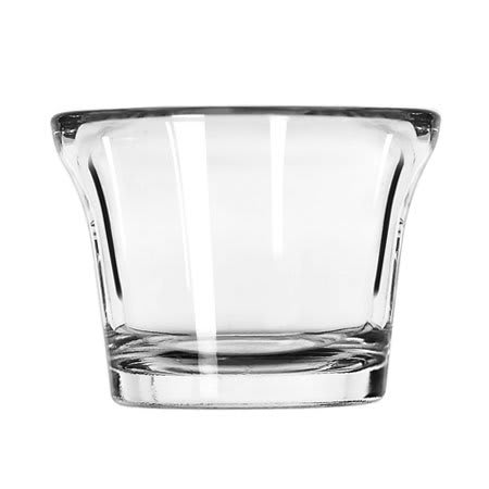 Libbey 5160 2.25 oz Glass Oyster Cocktail Dish Mini-Dessert