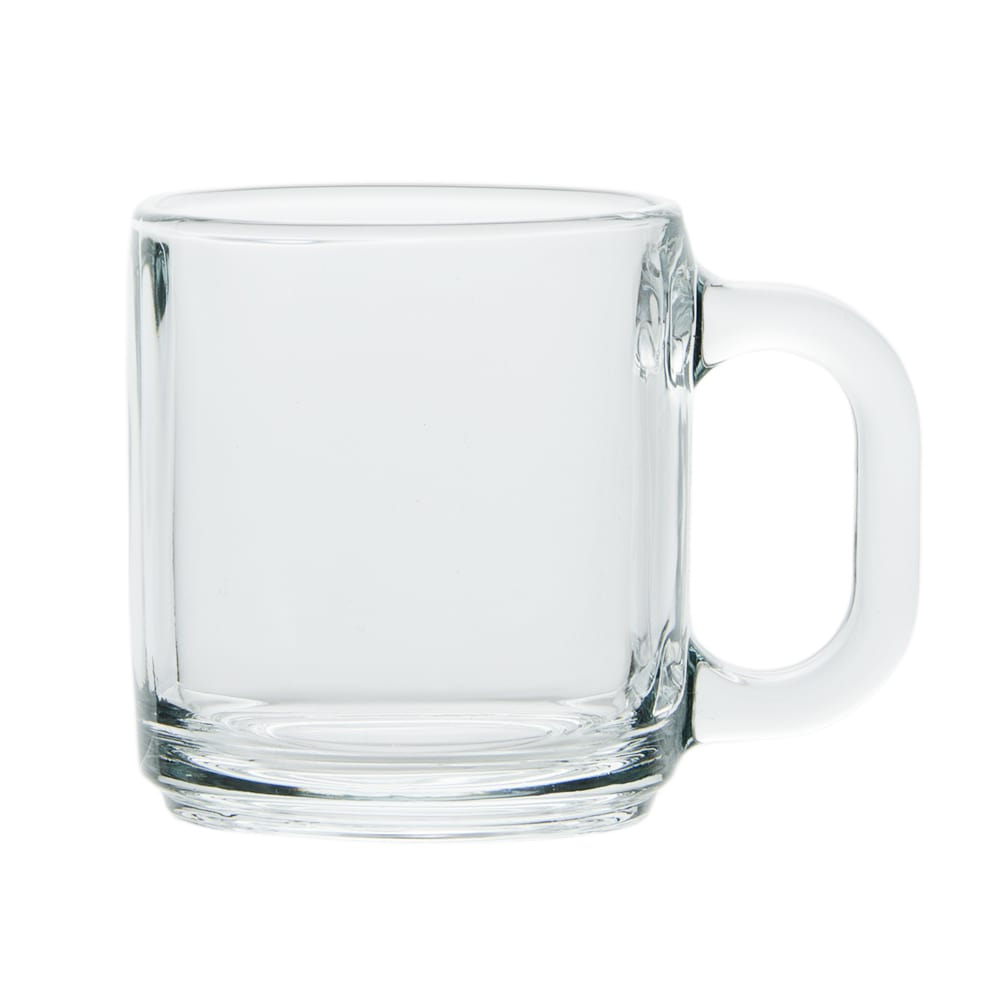 Libbey 5201 10 oz Clear Glass Coffee Mug