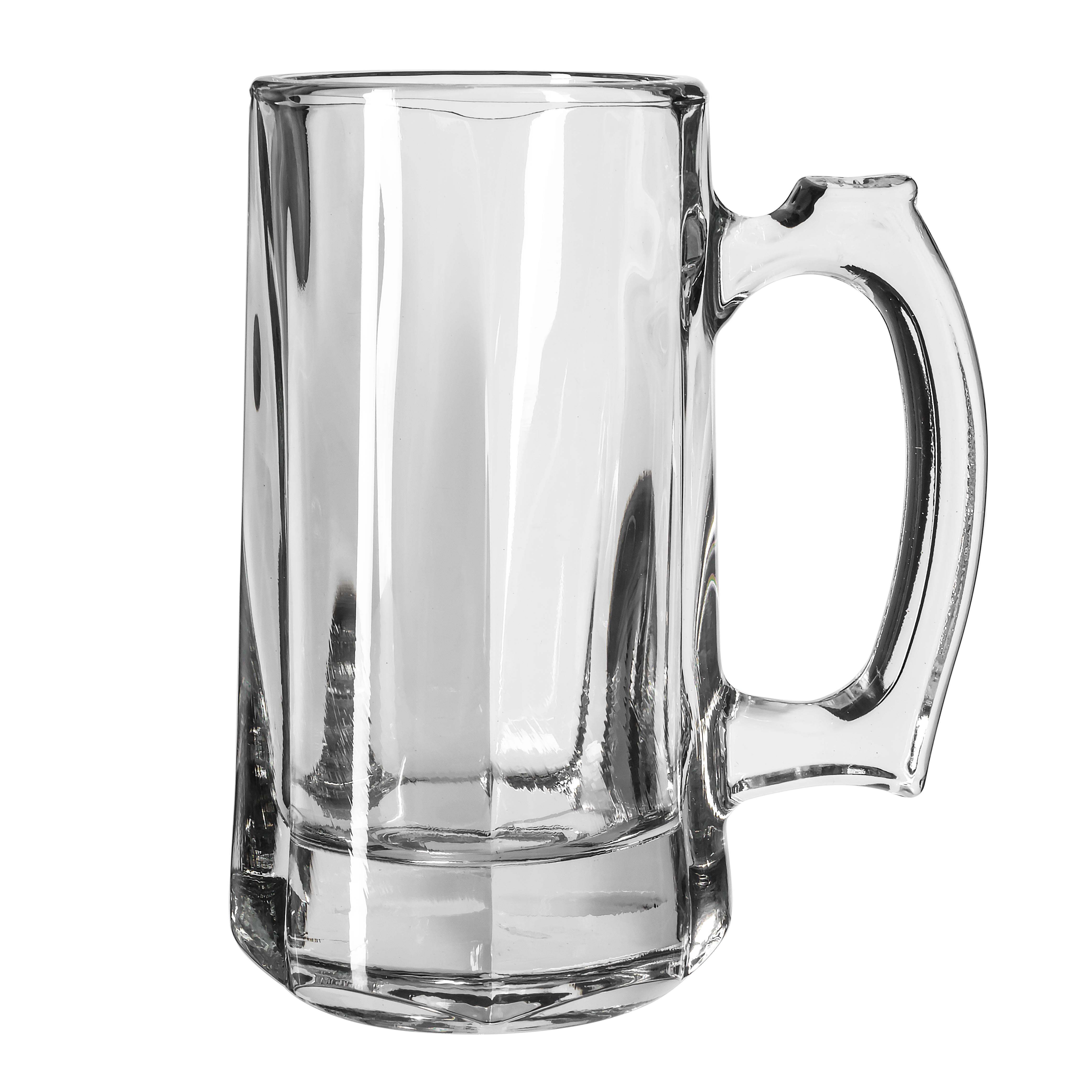 Libbey 5206 12 oz Glass Beer Mug / Stein