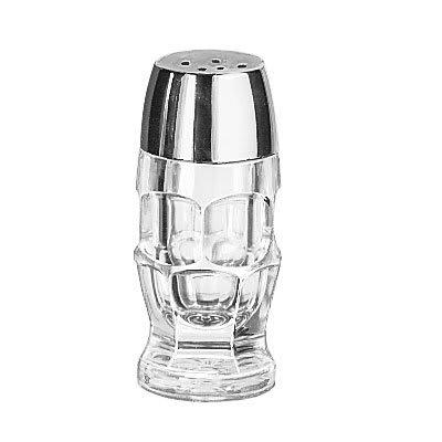 """Libbey 5221 3.875"""" Shaker for Salt/Pepper - Plastic Lid, Round"""