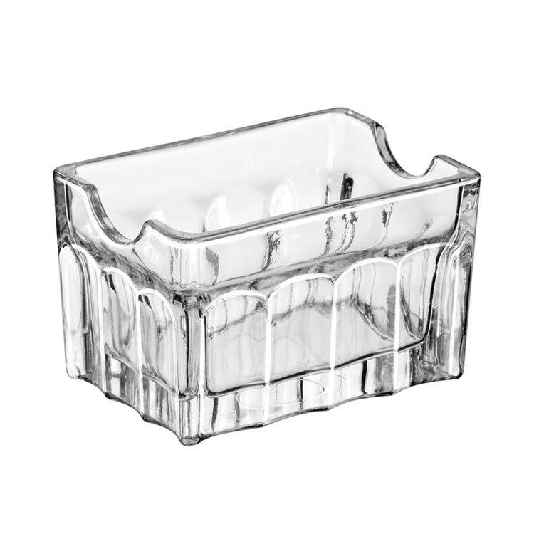"Libbey 5258 3.5"" Gibraltar Glass Sugar Packet Holder"