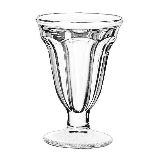 Libbey 5315 6.25-oz Glass Sundae Dish