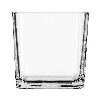 Libbey 5476 22-oz Clear Glass Cube Voltive Candle Holder
