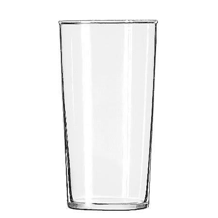 Libbey 551HT 12.5 oz Straight Sided Iced Tea Glass - Safedge Rim