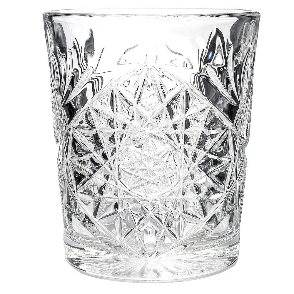 Libbey 5632 12-oz Double Old Fashioned Glass - Hobstar