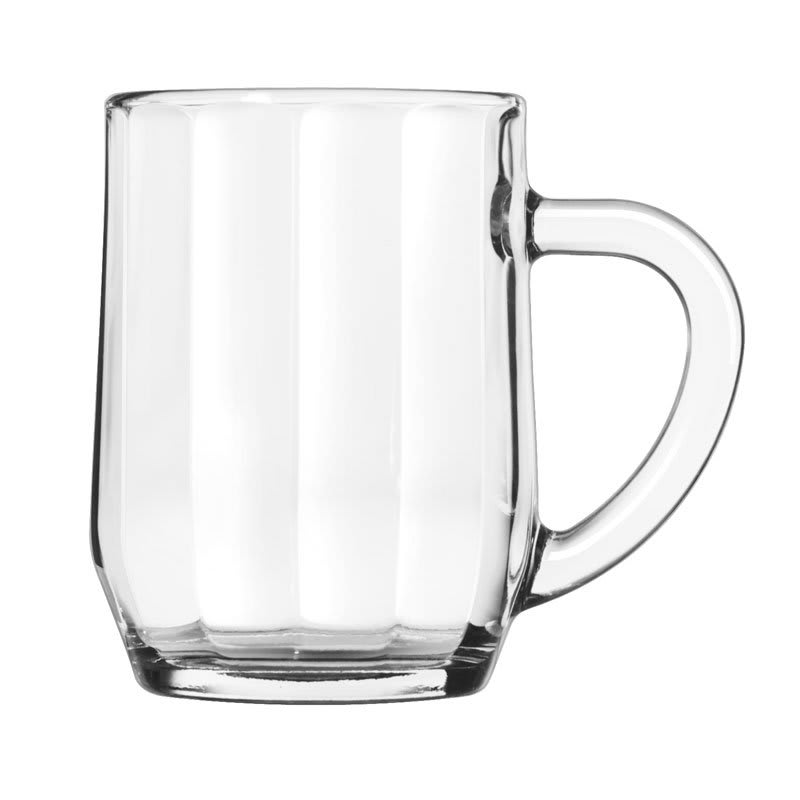 Libbey 5725 10 oz All Purpose Glass Optic Mug