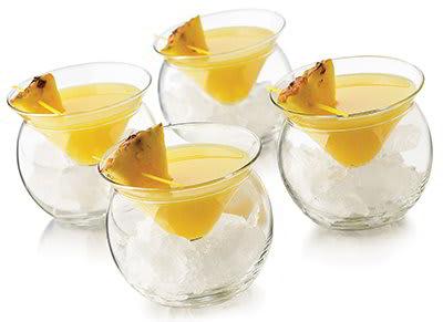 Libbey 70855S6 Thriller Chiller Glassware Set w/ (6) 5.75-oz & (6) 4.3x3.1-in Glasses