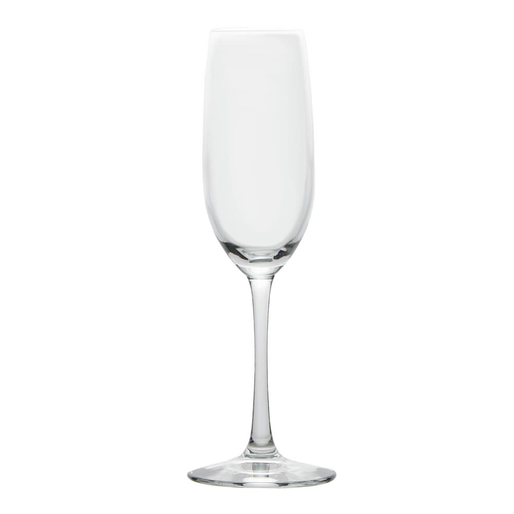Libbey 7500SR 8-oz Briossa Flute Glass - Sheer Rim
