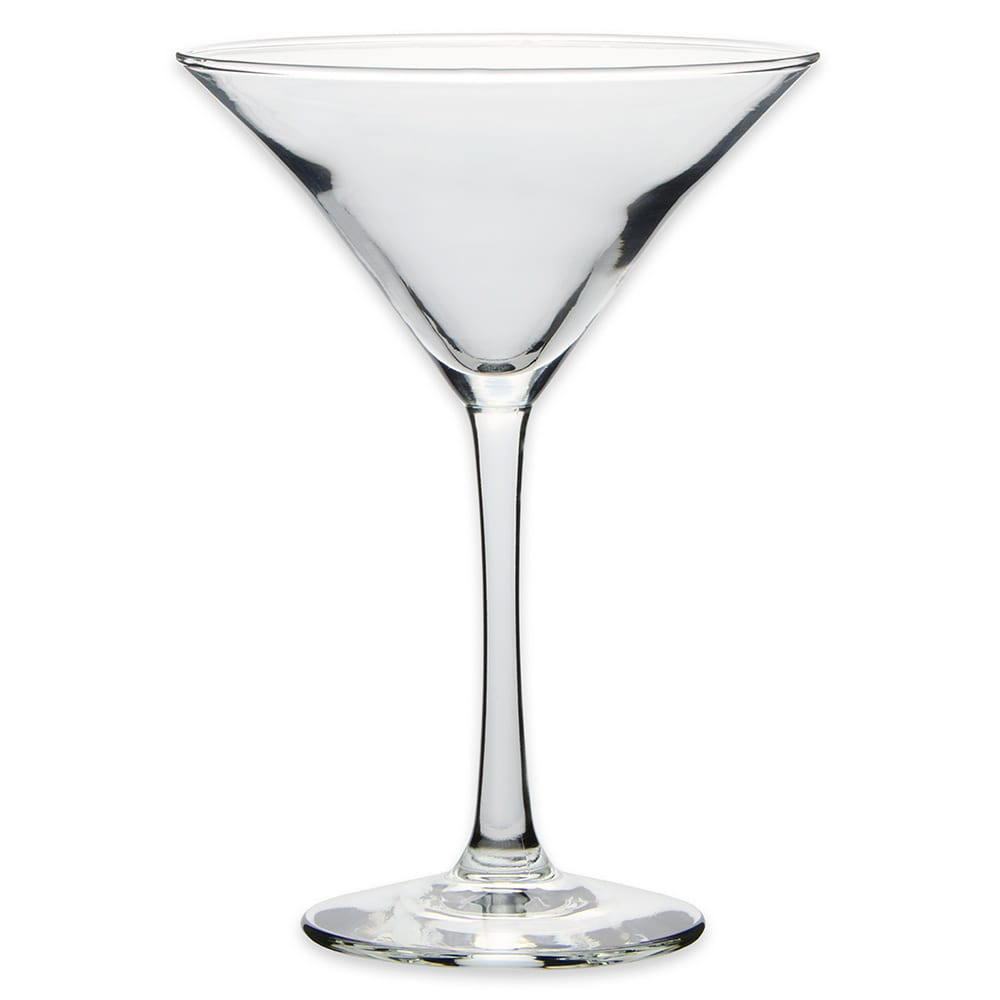 Libbey 7512 8 oz Vina Martini Glass - Finedge and Safedge Rim Guarantee