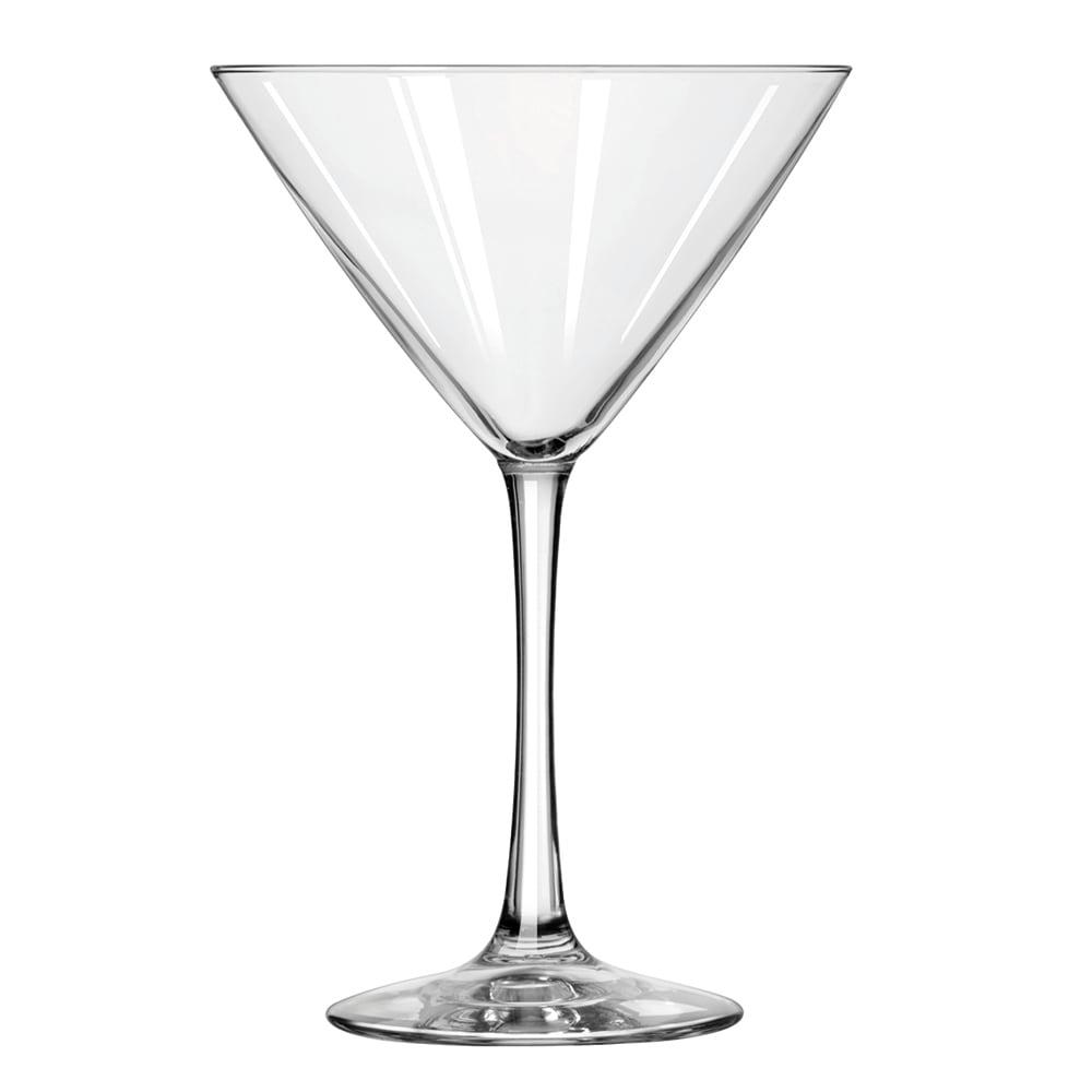 Libbey 7518 10 oz Vina Martini Glass - Finedge & Safedge Rim Guarantee