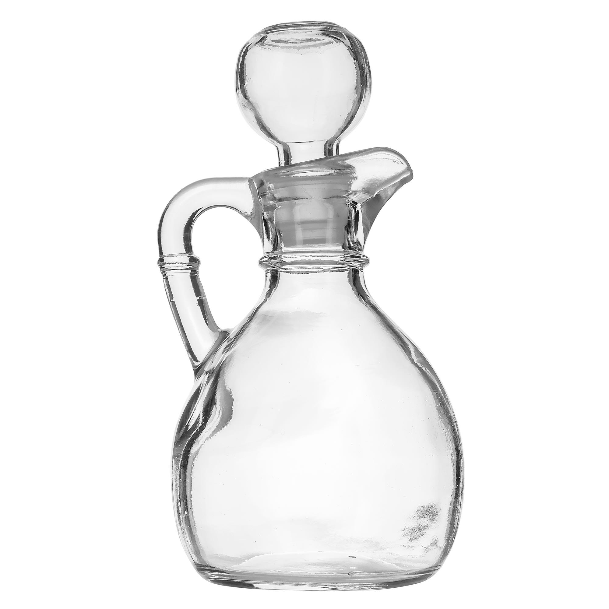 Libbey 75305 6 oz Glass Cruet - Stopper