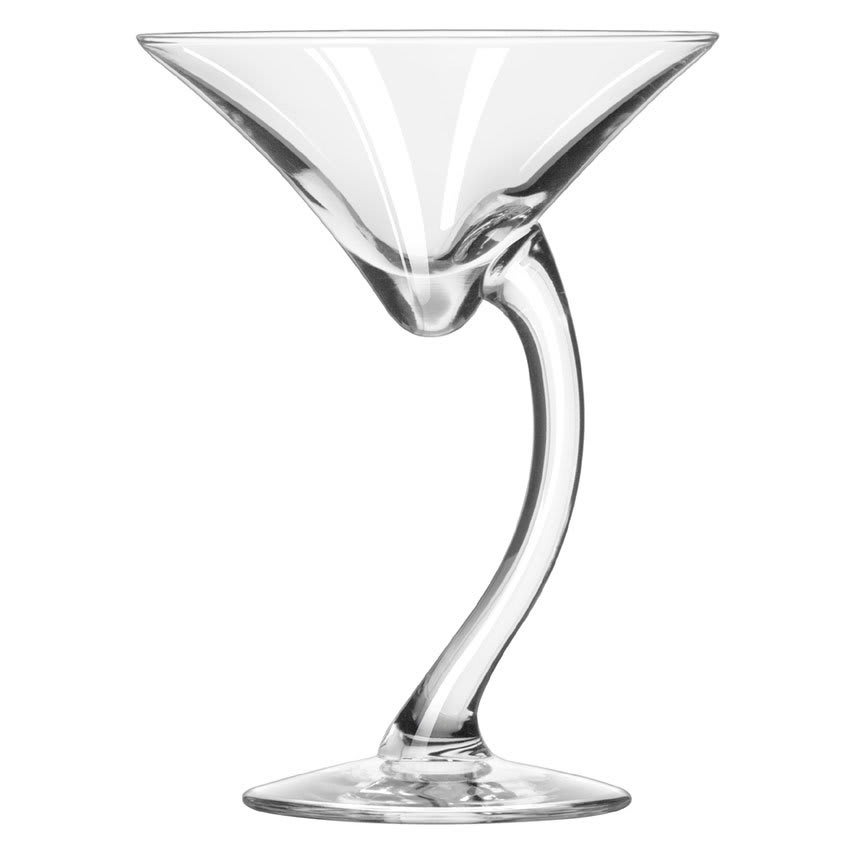 Libbey 7700 6.75 oz Bravura Martini Glass